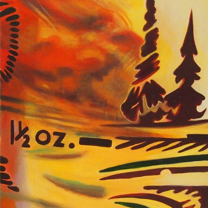 Boozy Landscape - Melanie MacDonald