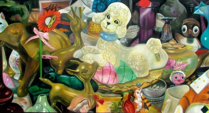 Flea Market Flotsam and Jetsam - Melanie MacDonald