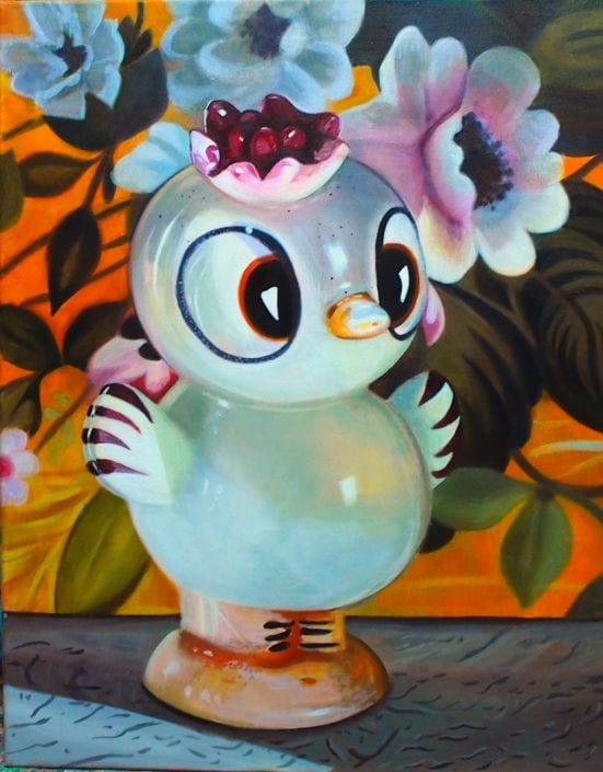 Floral-Crowned Chick - Melanie MacDonald