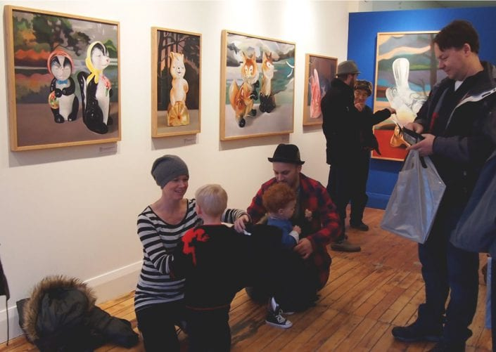 Menagerie at Cobalt Gallery 1 - Melanie MacDonald