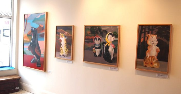 Menagerie at Cobalt Gallery 2 - Melanie MacDonald