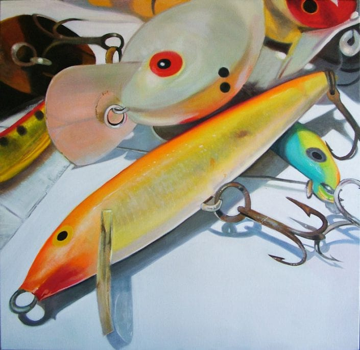 Orange Rapala and Big O - Melanie MacDonald