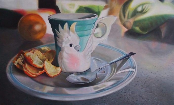 Cockatoo Mug - Melanie MacDonald