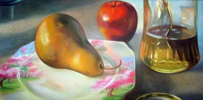 Pear on Blossom Time - Melanie MacDonald