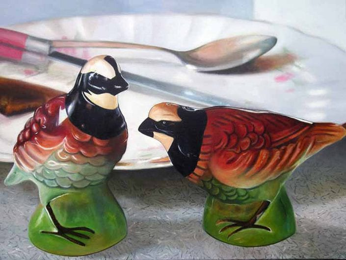 Salt and Pepper Partridge - Melanie MacDonald