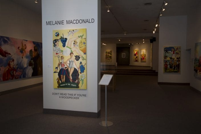 Scrapbook Project Installation at St. Thomas-Elgin Public Art Centre 1 - Melanie MacDonald