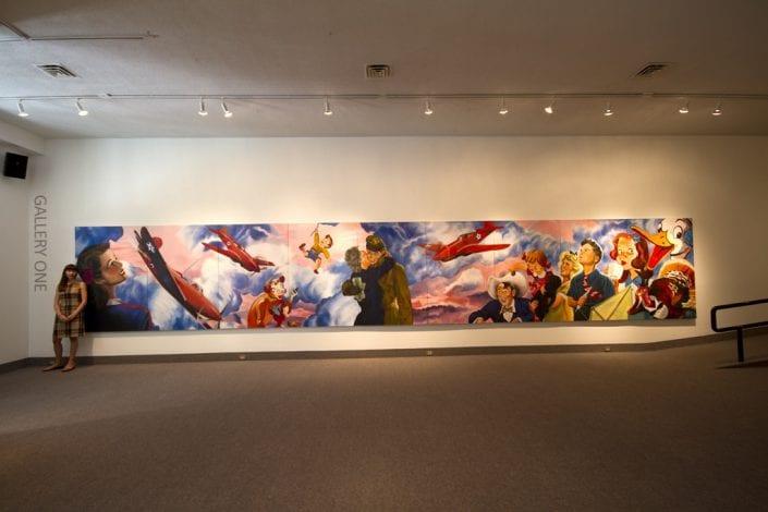 Scrapbook Project Installation at St. Thomas-Elgin Public Art Centre 3 - Melanie MacDonald