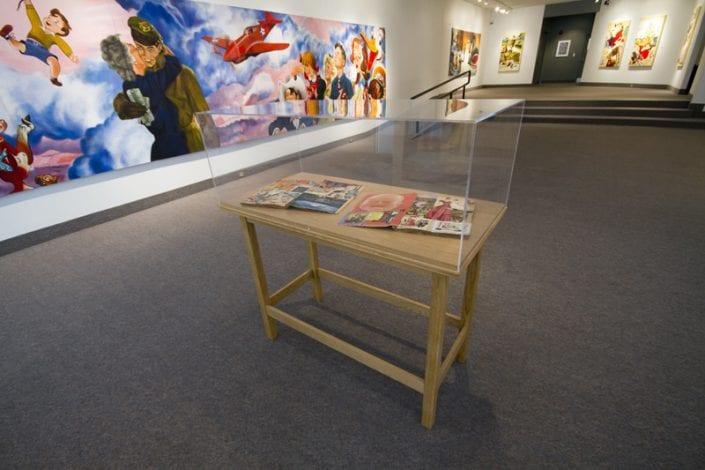 Scrapbook Project Installation at St. Thomas-Elgin Public Art Centre 4 - Melanie MacDonald