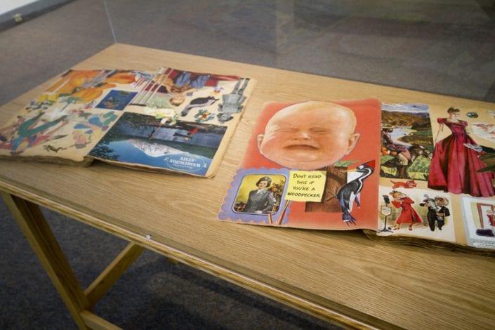 Scrapbook Project Installation at St. Thomas-Elgin Public Art Centre 5 - Melanie MacDonald