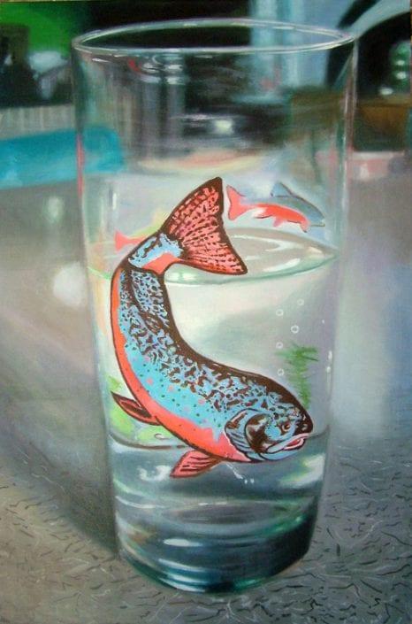Swimming Trout - Melanie MacDonald