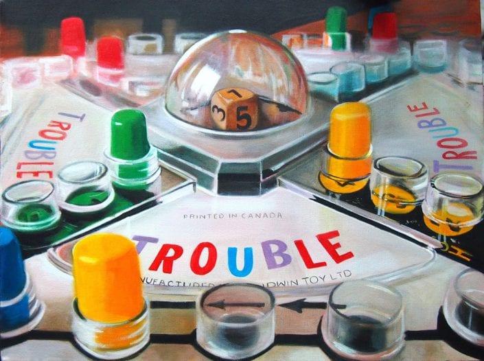 TROUBLE - Melanie MacDonald
