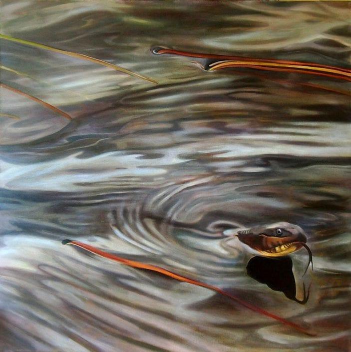 Water Snake - Melanie MacDonald