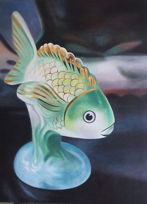 Green Fish - Melanie MacDonald