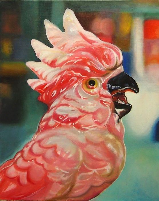 Pink Parrot-MelanieMacDonald